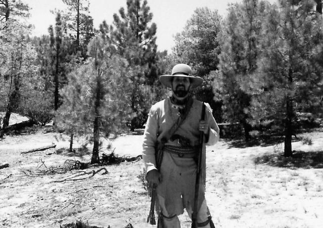 Mountain men wear cool, handmade clothing